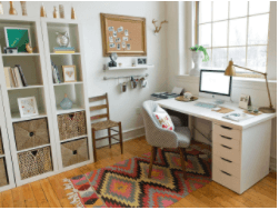 fun home office ideas on a budget home office makeover