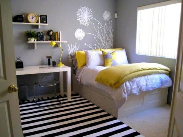 Beau Smaller Bedrooms Tend To Lack In Storage Space, Which Means Utilizing Every  Inch Of Space Is Necessary. Plastic Bins, Rolling Drawers, Or Baskets Are  The ...