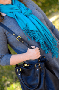 Braid scarf style