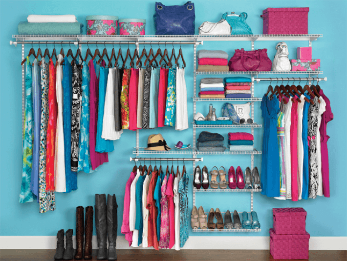 An Organized Wardrobe